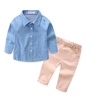 Mudkingdom Little Boys 'Áo sơ mi và quần quần áo Trẻ em Quần