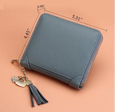 Ví đựng thẻ tín dụng của SafeCard 2 Thẻ ID và ngăn chứa thẻ nhớ Zipper