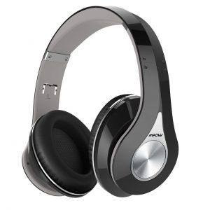 Tai nghe không dây Bluetooth Mpow, Tai nghe không dây Stereo Hi-Fi Stereo, Có thể Gấp, Bộ nhớ Earmuffs Bộ nhớ Nhỏ, với Mic và Chế độ Có dây dành cho PC / ĐTDĐ / TV