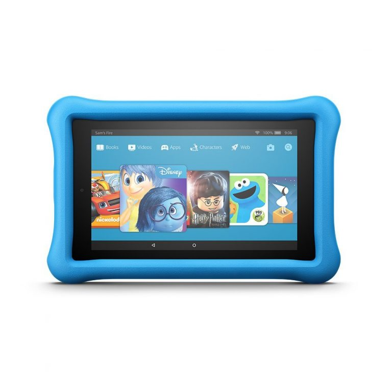 All-New Fire 7 Kids Edition Tablet Variety Pack, 16GB (Blue/Pink) Kid-Proof Case