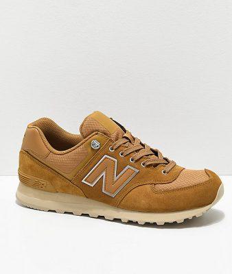 New Balance Lifestyle 574 Outdoor Nutmeg & Sand Shoes